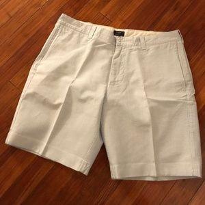 Mens Seersucker J. Crew Shorts